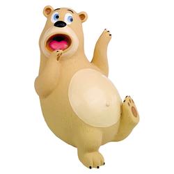 Nobby Latex Bär erschrocken, lustig