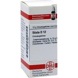 STICTA D 12 Globuli 10 g