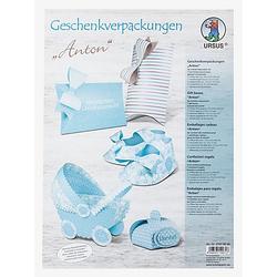 "Ursus Papier-Set Geschenkverpackungen ""Anton"", für 7 Verpackungen"