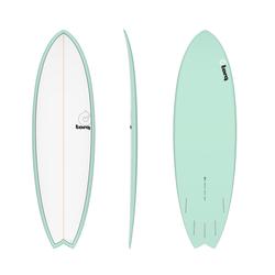 Torq Epoxy TET Fish Seagreen Surfboard Wellenreiter, Größe: 5'11''