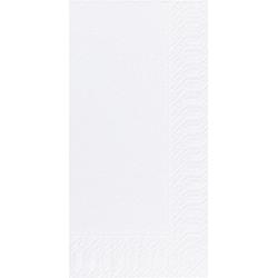 Duni Zelltuch Servietten 40x40 2lg 1/8 BF weiß - 4x300 Stück