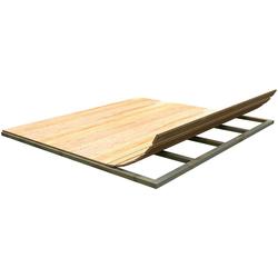 weka Fußboden (BxT: 200 x 200 cm), BxT:200x200 cm, für Gartenhäuser