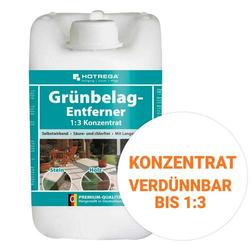 HOTREGA Grünbelagentferner 1:3 Konzentrat, Algen & Grünbeläge entfernen 5 Liter