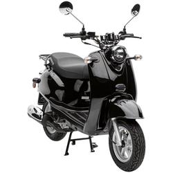 Nova Motors Mofaroller Retro Star, 49 ccm, 25 km/h schwarz