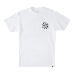DC Shoes T-Shirt Domination weiß S