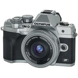 Olympus OM-D E-M10 Mark IV silber + 14-42 mm EZ