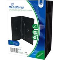 MediaRange 10 Jewel Cases für 4 CD/DVDs