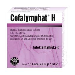 CEFALYMPHAT H Ampullen 10X1 ml