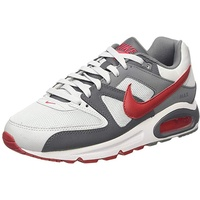 Nike Men's Air Max Command grey-white-red, 45