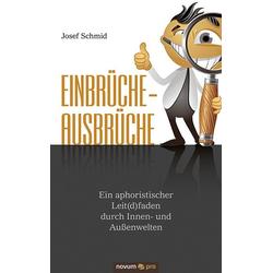 Einbrüche - Ausbrüche als Buch von Josef Schmid