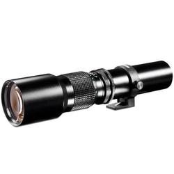 Walimex Linsenobjektiv 12726 Tele-Objektiv f/1 - 8.0 500mm