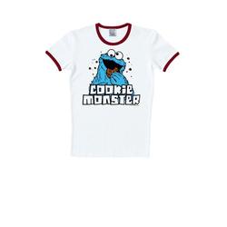 LOGOSHIRT T-Shirt mit Krümelmonster-Print bunt XL