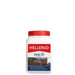 MELLERUD Holz Öl Pflege Teak , Streich- und Sprühbare wasserbasierende Pflege, 750 ml - Dose