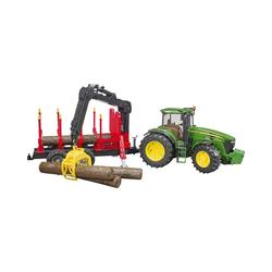 Bruder® Spielzeug-Auto Trak John Deere 7930 mit Rückeanhänger Ladekran