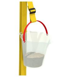 Wickey Spielturm-Spielzeugset Xtra-Lift Zubehör für Spielturm, Spielhaus, Klettergerüst oder Stelzenhaus weiß