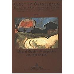Malerei  Graphik  Photographie von 1900 bis 1920 - Buch