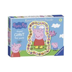 Ravensburger Puzzle Peppa Pig Shaped Puzzle 24 Teile, Puzzleteile