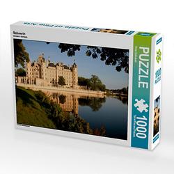 Schwerin Lege-Größe 64 x 48 cm Foto-Puzzle Bild von Peter Schickert Puzzle