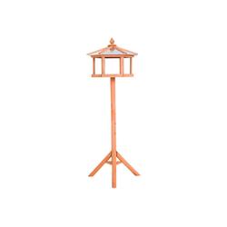 PawHut Vogelhaus Vogelhaus mit Ständer und Zinkdach