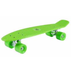 Hudora Skateboard Retro Kinder Skateboard - lemon green - 57 cm x 15 cm
