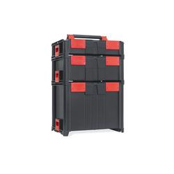 smarty space savers Werkzeugkoffer 5er Set Profi Ausführung, Profi Werkzeugkoffer