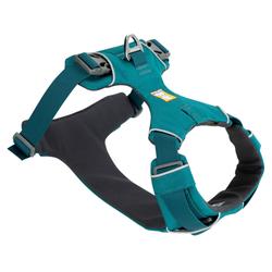 Ruffwear Hundegeschirr Front Range™ Harness petrol, Breite: ca. 2 cm, Brustumfang: ca. 33 - 43 cm