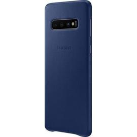 Samsung Leather Cover EF-VG973 für Galaxy S10 dunkelblau