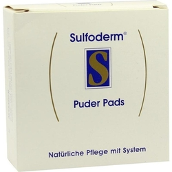 SULFODERM S Puder Pads 3 St.