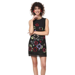 Desigual Cocktailkleid Desigual Kleid Emma - 19SWVW71-2000 44
