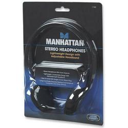 Manhattan Stereo Kopfhörer HiFi On Ear Kopfhörer On Ear Schwarz