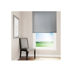 Rollo Sichtschutzrollo Sun, Kubus grau 80 cm x 150 cm