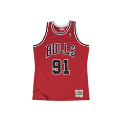 Mitchell & Ness Basketballtrikot Swingman Jersey Chicago Bulls 199798 Dennis Rodman S