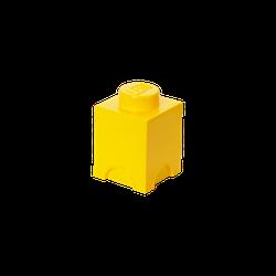 LEGO® Aufbewahrungsstein mit 1 Noppe in Gelb