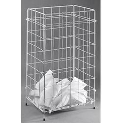 Fripa 2340013 Papierkorb 66l (B x H x T) 41 x 63 x 25.5cm Draht Weiß