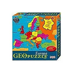 Geo Puzzle  Europa (Kinderpuzzle)