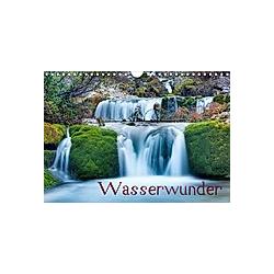 Wasserwunder (Wandkalender 2021 DIN A4 quer)