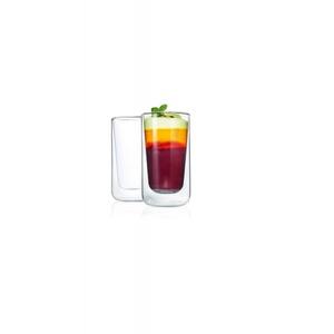 Latte Macchiato Gläser Nero Glas transparent Blomus 63655 (DH 7,9x13,9 cm) Blomus