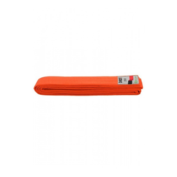 BUDO-GÜRTEL, DAX, ORANGE (Größe: 220, Farbe: Orange)
