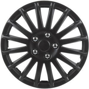 Cartrend 75174 Premium- Radzierblenden 4er- Satz Suzuka, schwarz 35,6 cm (14 Zoll)