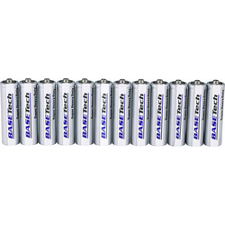 Basetech R6 Mignon (AA)-Batterie Zink-Kohle 1.5V 12St.