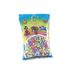 Hama Perlen pastell, pastellfarben, 3000 Stück