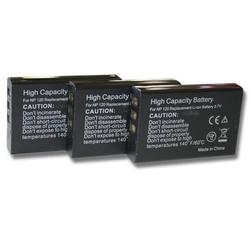 3 x vhbw Akku Set 1600mAh (3.7V) für Intermec CK1, CN1 wie Intermec 074337S, 73659