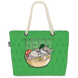 VOID Strandtasche (1-tlg), Ramen Totoro neko mein nachbar anime grün