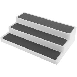 Pinsofy Gewürzregal, Küchenorganisator Gewürzregalorganisator, für Badezimmerschrank, Büroschrank Arbeitsplatte verwenden