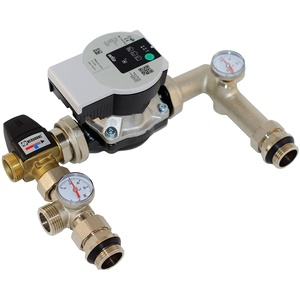 "Festwertregelset Pumpengruppe für Fußbodenheizung bis 125 m2 1"" ESBE VTA322 Kvs 1,6 + Wilo-Yonos Para RS 25/6"