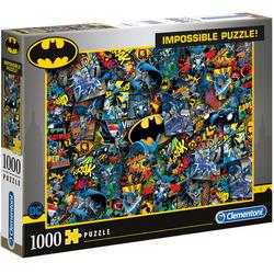 Clementoni Puzzle Impossible Collection - Batman bunt Kinder Gesellschaftsspiele
