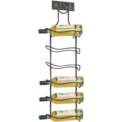 Home affaire Weinregal Weinregal aus Metall für 6 Weinflaschen zum Aufhängen