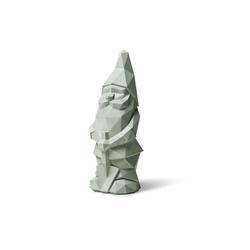 Plato Design Gartenzwerg Nino, (1 St), Höhe: 36cm, Material: Beton grün 13 cm x 10 cm x 36 cm