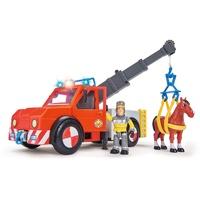 SIMBA Feuerwehrmann Sam Phoenix mit Figur und Pferd
