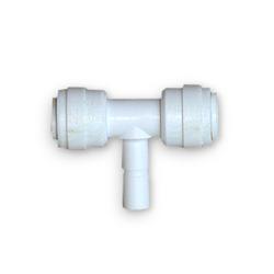 Quickverschluss, T-Stück steckbar, 6,4mm (1/4